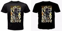 ingrosso camicie anime coda fata-Fairy Tail natsu lucy erza grigio felice giappone anime manga t-shirt nera