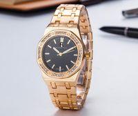 relógios impermeável feminina venda por atacado-Hot itens senhora moda relógio pulseira mulheres relógio relógios de pulso à prova d 'água relógio de quartzo famosa marca feminina relógio de quartzo frete grátis