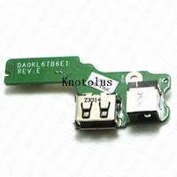Wholesale laptop dc power jacks online - DA0KL6TB6B0 DA0KL6TB6E1 PKL6DB0000 PC NANNY DC_USB Board DC Power Jack US For Lenovo IdeaPad Z470 Z475 Z475A usb