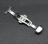 Hot selling HOT SELL Stainless steel watch accessories watch buckle Folding clasp