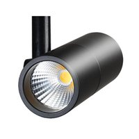 Wholesale Exhibition Lighting - 10W LED Track Light Rail Spotlight Lamp Gallery Led Shoes Clothing Store Display Window Exhibition Ceiling COB Chip Bulb Lamps