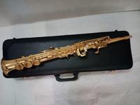 yanagisawa saxophon großhandel-Yanagisawa S-901 Sopransaxophon B flach, professionell spielend Spitzenmusikinstrumente Freier Verschiffenfachmann
