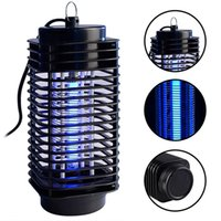 Wholesale Gardening Pests - Pest Control Electric Electric Mosquito Killer Moth Killing Insect LED Bug Zapper Fly Lamp Trap Wasp Pest Garden Supplies