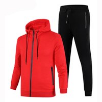 Wholesale mens overcoat spring - Brand Designer Mens Luxury Tracksuits Coat Pant 2 Pies Sportswear Sets Spring Autumn Running Jackets Overcoat Best Quality Plus Size