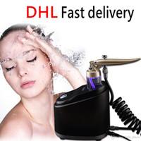 faltenspray groihandel-Hohe qualität tragbare Sauerstoff Wasser Spray Jet Gesichtsmassage Hautverjüngung Pflege Peel Machine Whitening Erleichtern Falten Entfernen