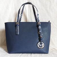 ingrosso borse di marca-2018 nuovo stile moda donna borse di lusso della signora PU borse in pelle borse di marca borsa spalla m Tote Bag femminile