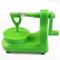 pelador nuevo al por mayor-Nuevo diseño Apple Peeler Fruit Peeler Slicer / Apple Peeling Machine Creative Home Kitchen Tool