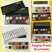 Wholesale Nice Holidays - NEW Kylie Cosmetics Holiday Palettes Naughty Eyeshadow Nice makeup palette 14 color eye shadow palette Christmas gift Free shipping