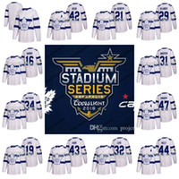 Wholesale Womens Xxl - Mens Womens Youth Toronto Maple Leafs 2018 Stadium Series Jerseys Mitch Marner Auston Matthews Frederik Andersen Tyler Bozak Nazem Kadri