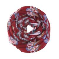 Wholesale Owl Warmer - WOMAIL Women Ladies Owl Leaves Print Pattern Scarf Voile Warm Wrap Shawl Fashion Crinkle Hijab Feb5 G25d45