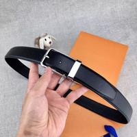 ingrosso vestito nero dal corsetto dalla fasciatura-Cintura uomo 2018 alta qualità Cinture uomo senza scatola designer di lusso Cintura uomo in vera pelle di alta qualità