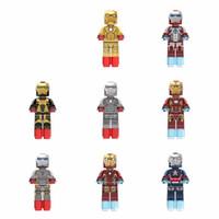 Wholesale Magnetic Films - Super Heroes Figure Film Character Series Model Children Toys Mini Granule Assembled Building Blocks Figures Toy Gift 2 5fd W