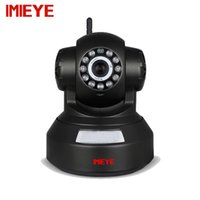 Wholesale night vision ptz camera - IMIEYE 1MP Wireless IP Wifi Camera Mini Home Security Surveillance TF Card Alarm CCTV With IR Night Vision Video PTZ Onvif Audio