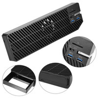 Wholesale xbox one fan for sale - Group buy External Inch SATA HDD SSD Enclosure Expansion w USB HUB Cooling Fan for XBOX ONE
