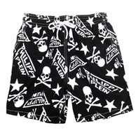 Wholesale short cute pant - Cute Skull Pattern Men Summer Luxury Brand Underwear Boxers Underpants Breathable Boxer Shorts Male Panties Underwears