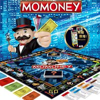 Wholesale role play toys online - Positive Edition Monopoly Real Estate Tycoon World Tour Game Chess Classic Board Role Playing Games Children Intelligence Toys yy WW