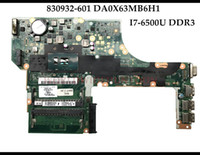 Wholesale motherboard for laptop mini for sale - High quality for HP Probook G3 Laptop Motherboard DA0X63MB6H1 I7 U DDR3 Fully Tested