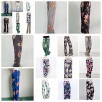Wholesale loose legged yoga pants resale online - New Yoga Wide Leg Pant Fitness floral printed Women Casual Sports Pants Harem Pants Lady Trousers Loose Home Long Pants FFA1061
