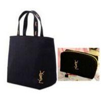 Wholesale Halloween Cosmetics - classic brand fashion handbags + cosmetic bag women shoulderbag + wallet clutch bag black