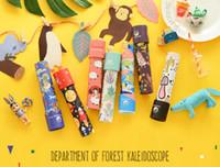 Wholesale Wholesale Kaleidoscope Toy - Imaginative Cartoon Animals 3D Kaleidoscope Paper Card Kaleidoscope Colorful World Toys Interactive Toys Kids Gifts 30pcs
