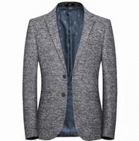 traje azul hombres gris novio al por mayor-Nuevo Slim Fit Groom Tuxedos Groomsmen Light Gray Side Vent Wedding sky blue El mejor traje de hombre trajes para hombres 8113
