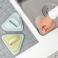 Wholesale tile tools wholesale - Decontamination Cleaning Brushes Bathtub Ceramic Tile Stove Triangle Sponge Brush Safe For Home Wash Tools Durable 1 69xm B