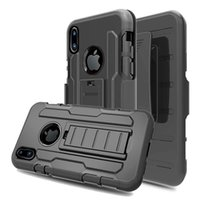 Wholesale branded pouches for sale - Group buy For iPhone X Xs Max Xr Heavy Duty Case with Belt Clip Cellphone Protective Cover Skin for iPhone Plus