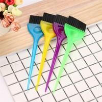 ingrosso capelli spazzolatura accessori-Hair Brush Plastic Nylon Hair Hairdressing Soft Brush Color Dye Tint Tool Accessories Trasporto di goccia 8f24