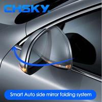 ingrosso pieghevole auto specchio-CHSKY Universal Car Side Mirror Sistema di piegatura Specchietto laterale auto pieghevole Kit universale Car Styling Accessori auto