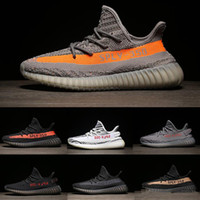 Wholesale dhl men shoes - New SPLY 350 Boost V2 DHL free shipping Season 3 With Box 2018 Best Quality men shoes women Running 350 Boost V2 size