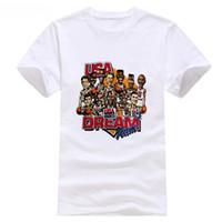 takım usa gömlek toptan satış-Vintage ABD Rüya Takımı T Gömlek Sz Orta NWOT Salem Spor RETRO VINTAGE Klasik t-shirt