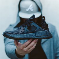 Wholesale Hot Sale Sneakers - HOT SALE WITH BOX 2018 New Originals NMD XR1 Runner PrimeKnit MasterMind Japan Women Mens Luxury Designer Running Shoes Trainers Sneakers