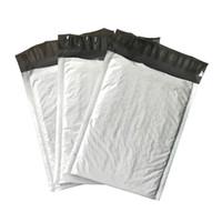 weiße blasenumschläge großhandel-160 * 200mm Poly Bubble Umschlag weiß / Poly Bubble Bag / Ultra-Light Mailer 30pcs