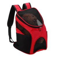 Wholesale tents for dogs - Carriers Dog Carrier s Pet Backpack Portable Dog Front Travel Bag Mesh Backpack Bag Head Out Double Shoulder Bag For 3KG