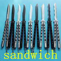 Wholesale Camping Swing - Benm butterfly BM42 BM43 BM47 BM49 sandwich simple jilt knife Free-swinging SPRING LATCH xmas gift knfie for man 1pcs