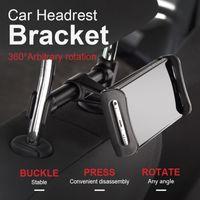 Wholesale Tablet Car Holder Headrest - Premium Back Seat Car Phone Holder 4-11.5inch Extendable Car Phone Holder Tablet Mobile Rotatable Car Headrest Stand Bracket