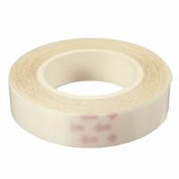 ingrosso nastro a nastro adesivo doppio-1 pz di alta qualità del merletto parrucca colla nastro per l'estensione dei capelli nastro adesivo doppio sider adesivo capelli veri colla adesiva