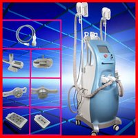 Wholesale Tripolar Radio Frequency Equipment - cavitation multipolar tripolar radio frequency fat freezing lipo laser body slimming weight loss equipment with 3 fat freeze handles