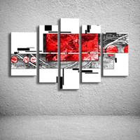 melhores pinturas a óleo modernas venda por atacado-MYT Grande Pintados À Mão Abstrata Moderna Pinturas De Parede Melhor Venda Pictures Pintura A Óleo Sobre Tela Wall Decor Decoração de Casa