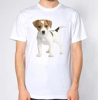 jack dogs venda por atacado-Jack Russell Camiseta Para Caes