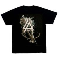 Wholesale linkin park t shirts - Linkin Park Hunting Party T-Shirt, Black,100% cotton,New,L, XL, heavy metal.