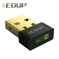 Wholesale Edup Mini Wireless - EDUP mini wi-fi wireless adapter 150mbps high quality wifi receiver 802.11n usb ethernet adapter wifi network card for notebook