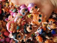 рождественские подарки оптовых-Baby LoL Игрушки Куклы Обнаженная Маленькая Сестра Голова Тела Может Переместить Смешные Фигурки Игрушки Девушки Детские Подарки на Рождество