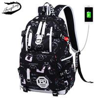 72be9905b3 2018 Fashion Emoji Women Backpack Teenager Girl School Travel Bag Print  Backpack Female Knapsack Bagpack Laptop Bag Mochila S914