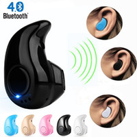 Wholesale blackberry earphones price for sale - Group buy Factory Price Mini Bluetooth Headphones with Mic Wireless Earphones Sport Earbuds For Phone earhuds In ear Sound Headset for iphone