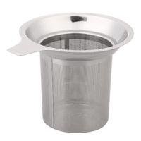 Wholesale iron cast teapots for sale - Mesh Tea Infuser Reusable Tea Strainer Teapot Stainless Steel Loose Tea Leaf Spice Filter Drinkware Kitchen Accessories