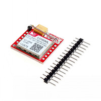 Wholesale micro gsm online - SIM800L GSM GPRS Module Board Micro Sim Transfer Card Core Board with Antenna Compatible with Arduino Raspberry Pi