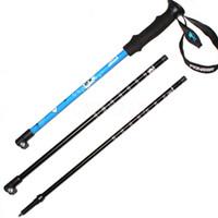 Wholesale walking stick fiber for sale - Group buy DHL Ultra light Trekking Ski pole Walking Stick Adjustable Hiking Alpenstock Carbon Fiber Climbing Skiing Cane