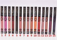Wholesale Lipstick Tattoos - 15 Colors Lip Makeup Long Lasting Lips Matte Lipstick Nude Cosmetic Moistourzing Lip Tint Tattoo Matte Liquid Lip Gloss Make Up