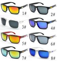 ingrosso occhiali da sole per il sole caldo-Occhiali da sole HOT retrò Uomo Designer di marca Lente a specchio quadrata Occhiali da sole Unisex Stile classico per le donne Lente di protezione UV400 91022